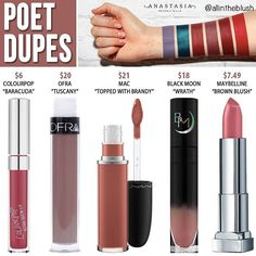 (@allintheblush) on Instagram: anastasiabeverlyhills dupe from the 6 new shades is #POET