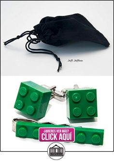 Lego Juego de gemelos y clip de corbata, Idea de regalo  ✿ Joyas para niños - Regalos ✿ ▬► Ver oferta: https://comprar.io/goto/B00X1O2LL8