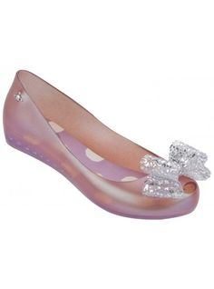 VW Ultragirl Pink Lace Bow | Melissa Shoes Online at NONNON.co.uk