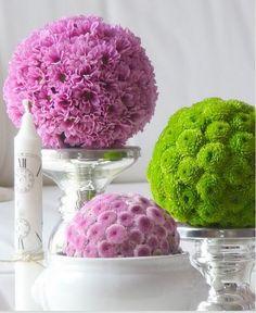 Boules de fleurs à faire soi-même - Tendance Boutik
