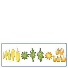 S2-062 Spellbinders Shapeabilities Die D-Lites Create A Daisy
