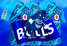 Bulls background Rugby, Puppy Love, 3 D, Printing, Puppies, Sport, Cool Stuff, Blue, Cubs