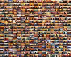 Penelope Umbrico (US) - Sunset Portraits @ Viewmaster Projects (Rotterdam)