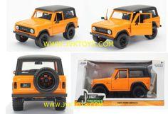 Jada-1-24-Scale-Just-Trucks-1973-Ford-Bronco-Orange-Diecast-Model-97824