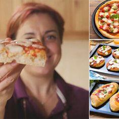 Pizza Bella, Focaccia Pizza, Pizza Lasagna, Vegan Gains, Wonderful Recipe, Antipasto, Finger Foods, Italian Recipes, Food To Make