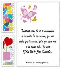saludos del dia del amor y la amistad para compartir por Whatsapp,descargar mensajes del dia del amor y la amistad: http://www.consejosgratis.es/mensajes-bonitos-por-san-valentin/