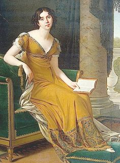 Robert Lefèvre. . Portrait of Elisabeth Demidova. c.1800-1805. Oil on canvas. 190 x 143. The Hermitage, St. Petersburg, Russia.
