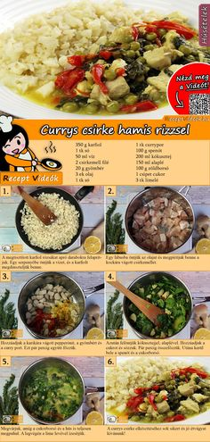Hungarian Recipes, Ground Meat, Healthy Cooking, Cookie Recipes, Qr Codes, Health Tips, Dinner Recipes, Food And Drink, Tasty