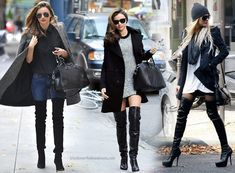 how to style long flat boots - Google Search