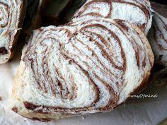 Chocolate Marble Bread  ~ tangzhong method