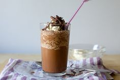 The perfect milkshake: as icy as it is creamy, as good as chocolate ice cream but without the heft. Frozen Strawberry Desserts, Frozen Desserts, Frozen Treats, Just Desserts, Dessert Recipes, Frozen Cookies, Fruit Dessert, Frozen Cake, Frozen Fruit