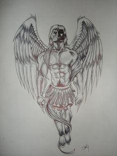 guardian angel tattoos | Guardian Angel Tattoo by y0dathejedi on deviantART