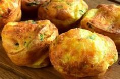 10 Minuets : Cheese with Parsley Popover Pastry Recipe
