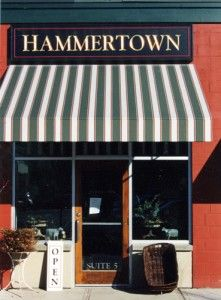 From the beginning Hammertown Rhinebeck had it's own sense of identity and developed their own loyal following of customers.