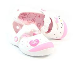 Hello Kitty Lovely Kids Casual Shoes for Girls Clogs House Pool White US Size 13 - http://shoes.goshopinterest.com/girls/athletic-girls/walking-athletic-girls/hello-kitty-lovely-kids-casual-shoes-for-girls-clogs-house-pool-white-us-size-13/