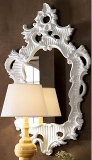 Matters of Style: DIY Glossy White Mirror