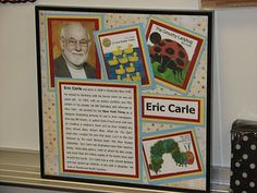 Love this idea...author in a frame! :)