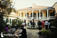 Beauregard Keyes House Wedding New Orleans French Quarter | Martini and Adam | Maile Lani Photography