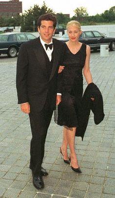 John F. Kennedy Jr. and Carolyn Bessette Kennedy   (May 1997)