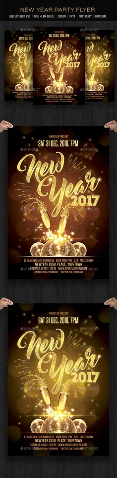 New Years Eve Free PSD Flyer Template   Http\/\/freepsdflyer   Party