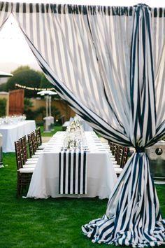 stripe outdoor wedding decor - Google Търсене