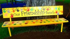 Friendship Bench Idea --  This year's service project!