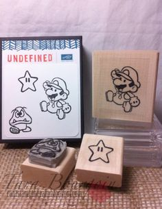 Stamps carved by Tara Bourgoin