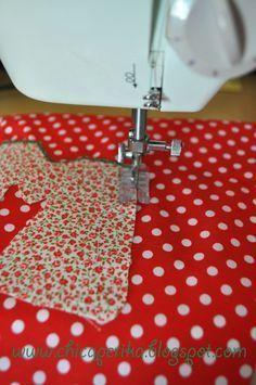 Chica Perika: Cómo hacer una aplicación en tela   Recetas   Costura   Manualidades   Tutoriales