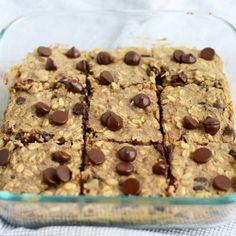 Gluten Free Banana Bread Oatmeal Bars