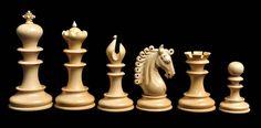 Serie de piezas de ajedrez club waterford