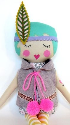 pretty little things boho doll