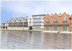 The new boathouses at Rafts. From £600K to £2,5M