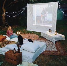 cozy movie night