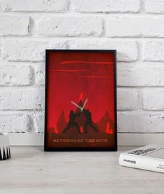 Star Wars Revenge of the Sith art print poster wall art decor Gift poster