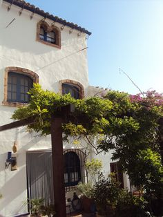 Typical architecture in Frigiliana, a lovely white village close to Malaga (50km).