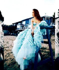 Maggie Q:-) at the beach~