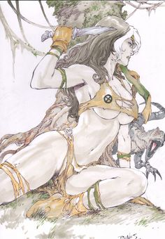 Savage Land Rogue - Ed Benes