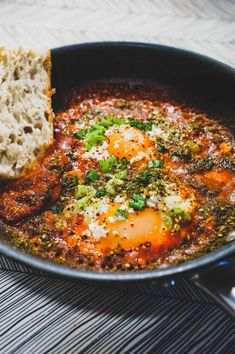 Turkish Menemen Breakfast Eggs are a great way to start any day! - a marriage made in heaven of eggs, tomato, feta and fragrant Turkish spice. Scottish Recipes, Turkish Recipes, Romanian Recipes, Ethnic Recipes, Turkish Spices, Turkish Eggs, Good Food, Yummy Food, Brunch Dishes