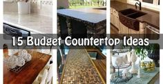 15 Budget Countertop Ideas