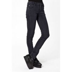 Designer Clothes, Shoes & Bags for Women Black Skinnies, Black Jeans, Cheap Monday Jeans, Black Super Skinny Jeans, Tights, Pants, Shopping, Collection, Polyvore