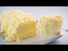 Cotton Soft Snow Cheesecake So Yummy - YouTube Coconut Cheesecake, Cheesecake Recipes, Dessert Recipes, Party Recipes, Poke Cakes, Cupcake Cakes, Cupcakes, Cold Desserts, Cake Fillings