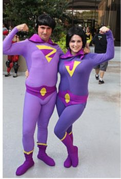 Wonder Twins cosplay dragon con 2013