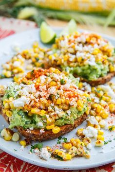 Esquites (Mexican Corn Salad) Avocado Toast Recipe on Closet Cooking Mexican Food Recipes, Vegetarian Recipes, Cooking Recipes, Healthy Recipes, Delicious Recipes, Cooking Tips, Ethnic Recipes, Avocado Toast, Avocado Dip