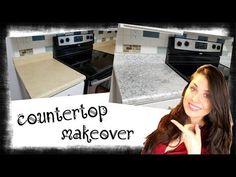 Vero Vi 💋 COUNTERTOP  MAKEOVER / granito 💜 Countertop Makeover, Countertops, Youtube, Granite, Beads, Countertop, Table Top Covers