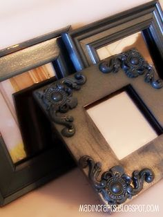 $6 for 3 PB-Inspired Mirrors - Mad in Crafts
