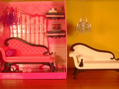 before & after Barbie sofa | Flickr - Photo Sharing!