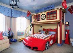 Letto A Forma Di Automobile : 30 foto di letti a castello per bambini davvero originali camera