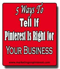 Social Media Examiner - 5 Ways To Tell If Pinterest Is Right For Your Business by Jason Miles
