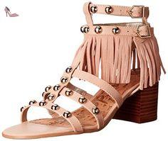 Sam Edelman  Shaelynn, Spartiates femme - Beige - Beige (SOFT NUDE VAQUERO SADDLE LEATHER), 39 - Chaussures sam edelman (*Partner-Link)
