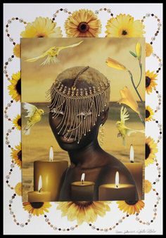 Oshun/ Oxum an Orisha who reigns over love, intimacy, beauty, wealth and diplomacy